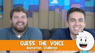 Download Guess The Voice - Animation Challenge With Brian Hull Video