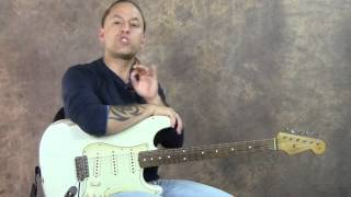 Download Shortcut To Memorize Notes On Fretboard SD   Real World Soloing   Steve Stine   GuitarZoom Video