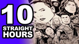 Download DRAWING FOR 10 STRAIGHT HOURS at the STAR WARS SHOW LIVE! Video