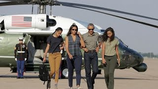 Download Barack Obama and Michelle Obama's Daughters and Their Beautiful Moments Video