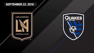Download HIGHLIGHTS: Los Angeles Football Club vs. San Jose Earthquakes | September 22, 2018 Video