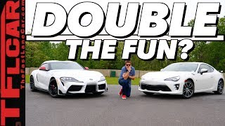 Download Is The New 2020 Toyota Supra More Than a Rebadged BMW Z4? We COMPARE it to the Toyota 86 To Find Out Video
