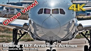 Download Boeing 787 Dreamliner American Airlines (Close view) [4K] Video