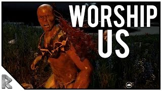 Download They're Worshiping Us! - The Forest Multiplayer w/ Vuxxy #4 (Season 2) Video