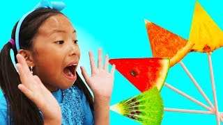 Download Learn Colors with Fruits Song | Wendy Pretend Play Nursery Rhymes & Kids Songs Video