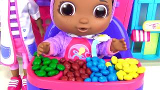 Download Get Well Baby CECE, Doc McStuffins Playset, Eat, Drink, Pacifier Learn Colors M&M's Candies TUYC Video