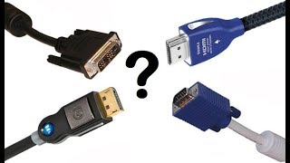 Download VGA - DVI - HDMI - DISPLAYPORT ARASINDAKİ FARKLILIKLAR Video