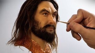 Download Aquaman Sculpture Timelapse - Aquaman Video