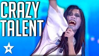 Download CRAZIEST TALENT All Around The World | Got Talent Global Video
