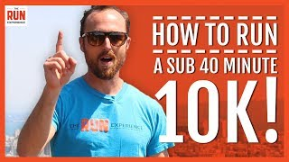 Download How To Run A Sub 40 Minute 10K Video