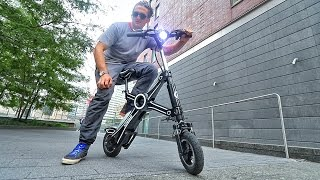 Download RiDICULOUS ELECTRIC MOTORCYCLE Video