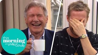 Download Ryan Gosling and Harrison Ford Lose It at Hilarious Interview! | This Morning Video