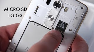 Download How to Insert Micro SD Card to LG G3 Video