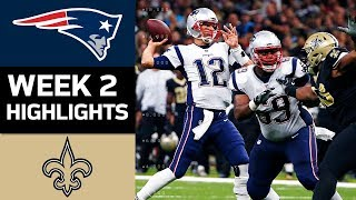 Download Patriots vs. Saints | NFL Week 2 Game Highlights Video