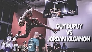 Download Guy Dupuy VS Jordan Kilganon in EPIC Dunk Contest | Dunk Battle of the Year!! Video