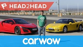 Download Honda (Acura) NSX 2017 review: Hero vs Legend | Head2Head Video