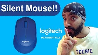 Download Logitech M331 silent plus wireless mouse unboxing and overview Video