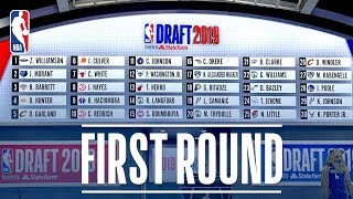 Download EVERY PICK from the First Round | 2019 NBA Draft Video