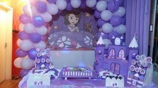 Download Depois de cada detalhe veja como ficou a decoração do tema princesa sofia Video