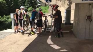 Download Christchurch Adventure Park: Chair lift loading. Video