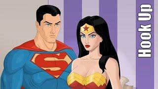 Download Cartoon Hook-Ups: Superman and Wonder Woman Video