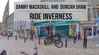 Download Danny MacAskill and Duncan Shaw Ride Inverness Video