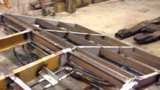 Download Tag trailer with a custom hydraulic dove tail add Video