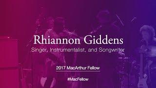 Download Singer, Instrumentalist, and Songwriter Rhiannon Giddens | 2017 MacArthur Fellow Video