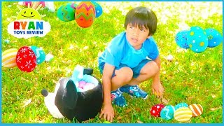 Download Easter Egg Hunt Surprise Toys for Kids at the Farm with Ryan ToysReview! Video