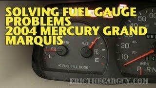 Download Repairing Fuel Gauge Problems 2004 Mercury Marquis -EricTheCarGuy Video
