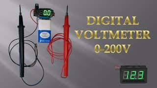 Download Mini Digital Voltmeter Video
