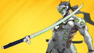 Download Genji Overwatch - Dragon Blade Katana - How to make Ninja Genji's Sword Video