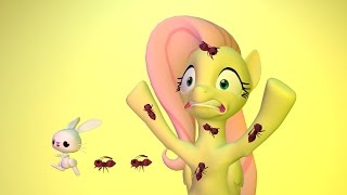 Download Fluttershy and The Ant Army Video