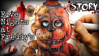 Download Five Nights at Freddy's (FNAF) STORY Pt.1 - Creepypasta + Drawing Video
