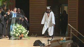 Download Teen Paralyzed In Shooting Surprises Classmates & Walks Graduation Video