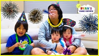Download Happy New Year Celebration and Family Singing Songs with Ryan's Family Review Video
