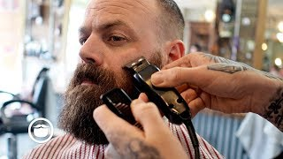 Download Game of Thrones Style Beard Trim and Haircut Video