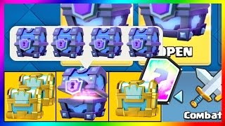 Download Clash Royale PACK OPENING SUPER MAGICAL CHEST LEGENDAIRE Video