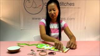 Download CraftyStitches Travel Jewelry Roll Video
