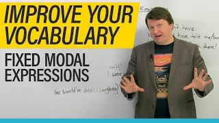 Download Fixed Modal Expressions: Easy English sentences to memorize and use! Video
