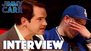 Download Jimmy's Hilarious Audience Interview   Jimmy Carr Being Funny Video