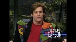 Download Jim Carrey Impressions of Kevin Bacon & Wile E. Coyote on Johnny Carson's Tonight Show Video
