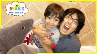 Download PET SHARK ATTACK! Playing Chase and Hiding Family Fun Activities for Kids Toy Shark Pretend Playtime Video