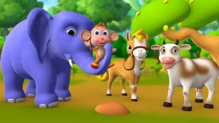 Download Hathi mera Dosth 3D Animated Hindi Stories for Kids Moral Stories हाथी मेरा दोस्त हिन्दी कहानी Tales Video