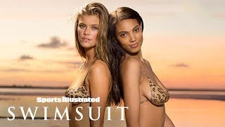 Download Kate Upton, Chrissy Teigen & More Recreate Iconic Covers In Bodypaint | Sports Illustrated Swimsuit Video
