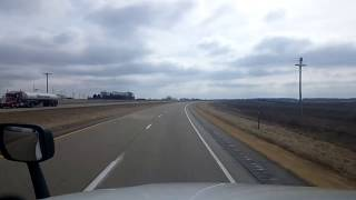 Download BigRigTravels LIVE! Maquoketa to Davenport, Iowa US 61 South-Feb. 23, 2018 Video