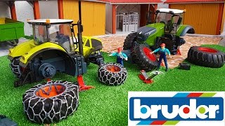 Download BRUDER TOYS RC tractors NEWS delivery Video