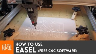 Download How to use Easel (free CNC software) Video