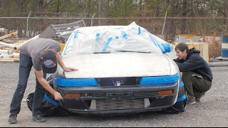 Download Nissan 240sx $100 Paint Job- How to Spray Paint a Car Properly Video