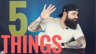 Download 5 things I wish I knew back then | Beginner Beard Tips Video